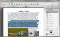 Insert or edit text in a PDF document thumbnail