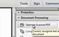 Convert a scanned document to a PDF thumbnail