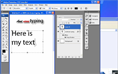 Creating Text thumbnail