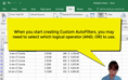 Understanding Criteria Part 7- Criteria (Multiple Criterion) Using AND and OR Operators thumbnail