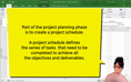 Getting Started - Project Schedule Part 1 thumbnail